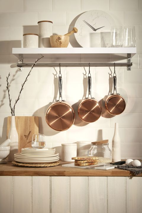 Home interiors - copper accents