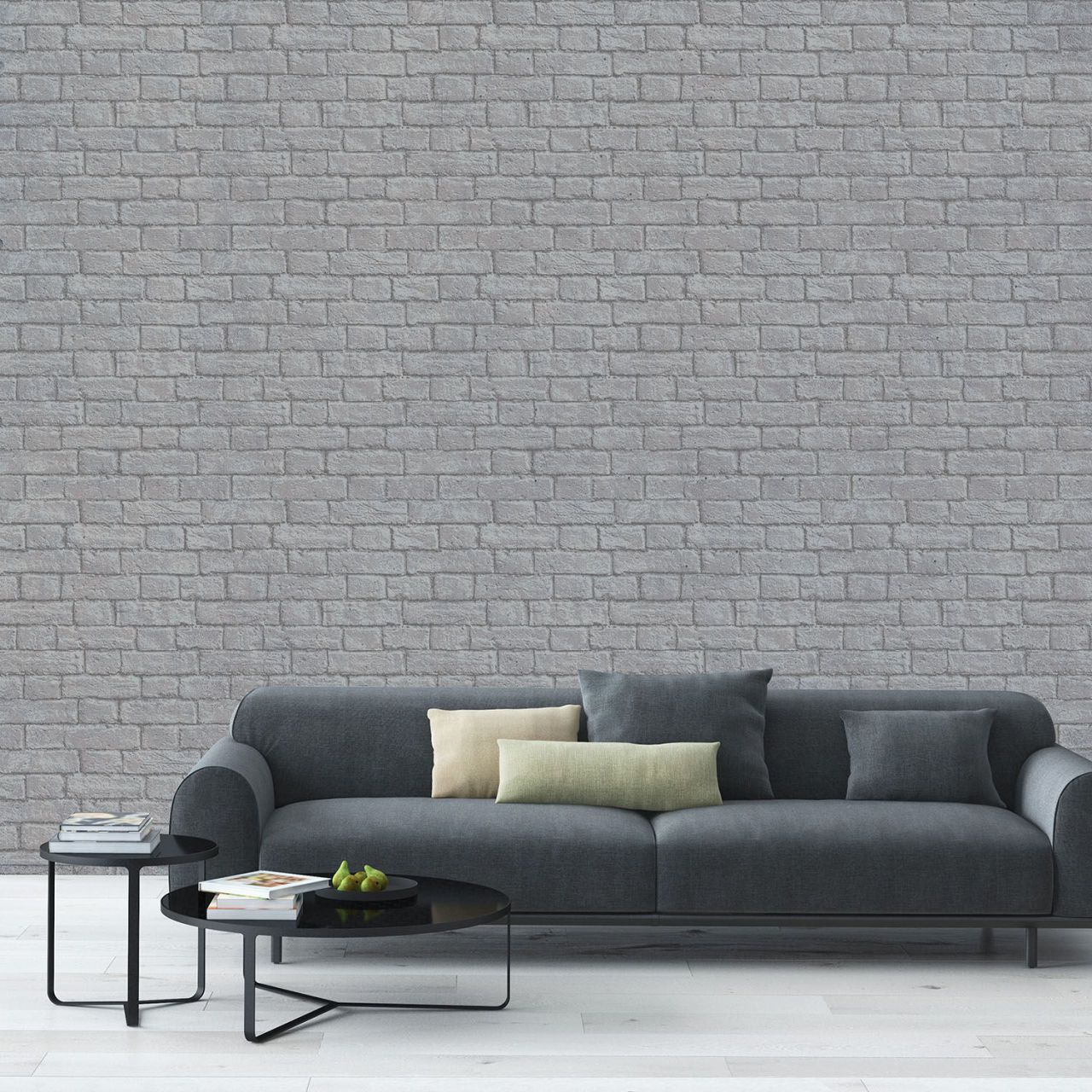 Grey Wallpaper By Inspired Wallpaper