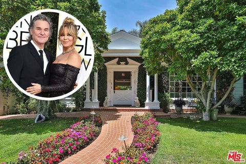 Kurt Russell and Goldie Hawn Los Angeles home - Palisades Riviera