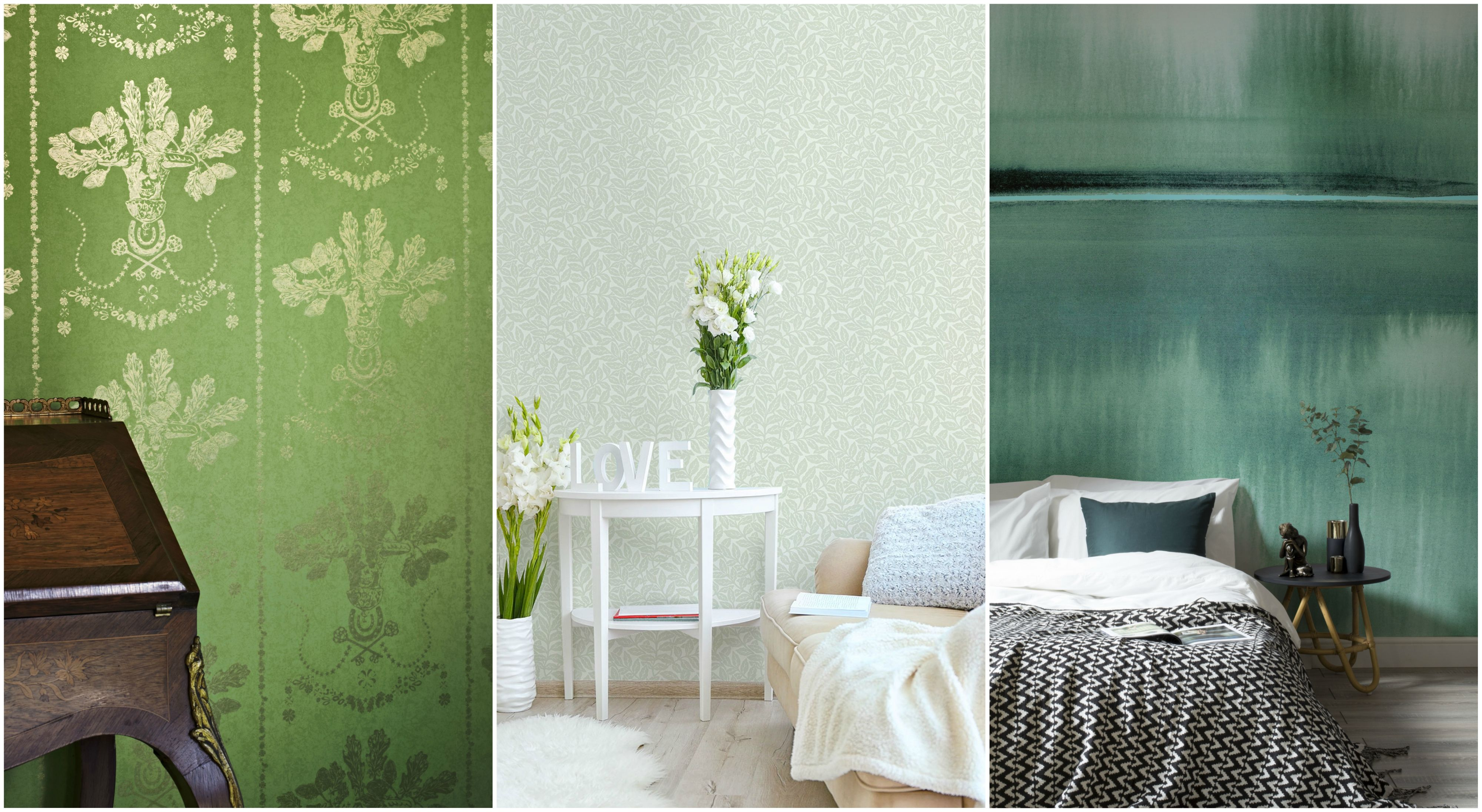 10 Of The Best Green Wallpapers