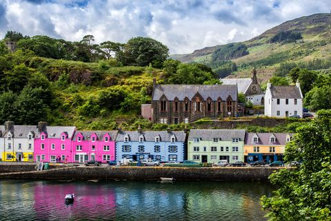 Portree on Isle of Skye.