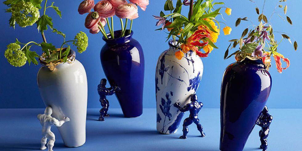 This superhero vase puts the fun back into interiors