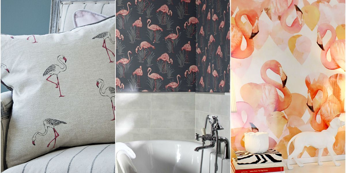 Stylish ways to bring the flamingo trend into your home
