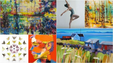 Affordable Art Fair prints and paintings