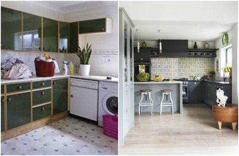 Kitchen makeover in Shropshire