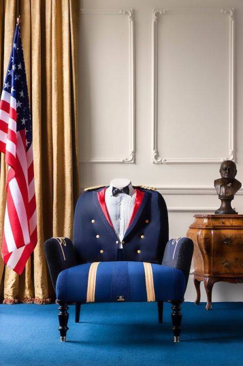 The Vintage U.S. Military Parade Chair: £4490.00