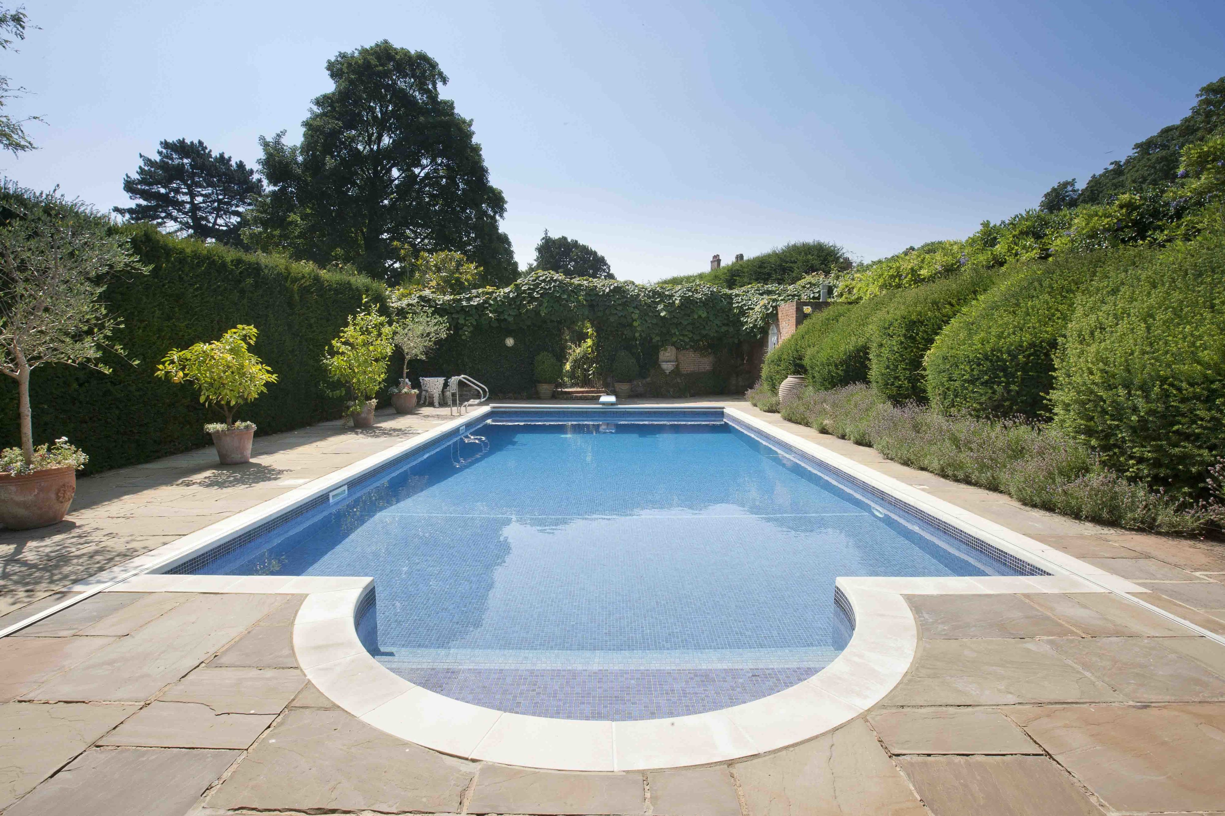 The Priory, Swimming Pool, Knight Frank