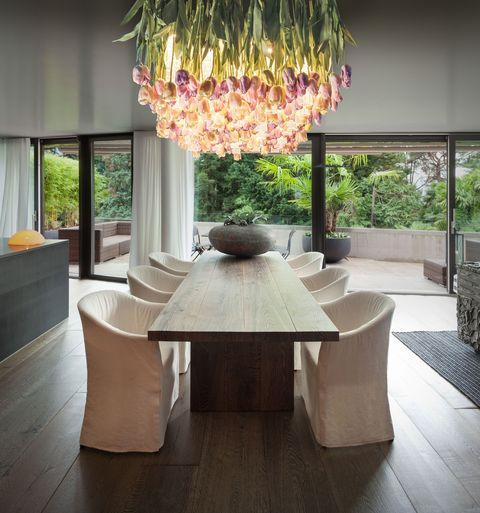 Flower Power Murano Glass Chandelier With Flowers
