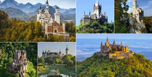 Germany fairy tale castles