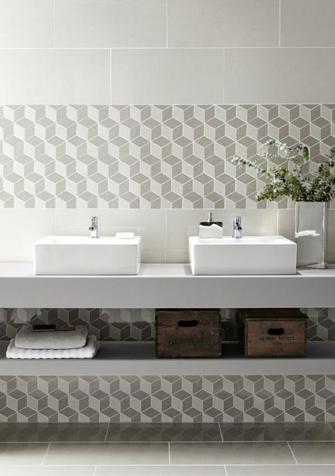 Regal cubis mosaic tiles