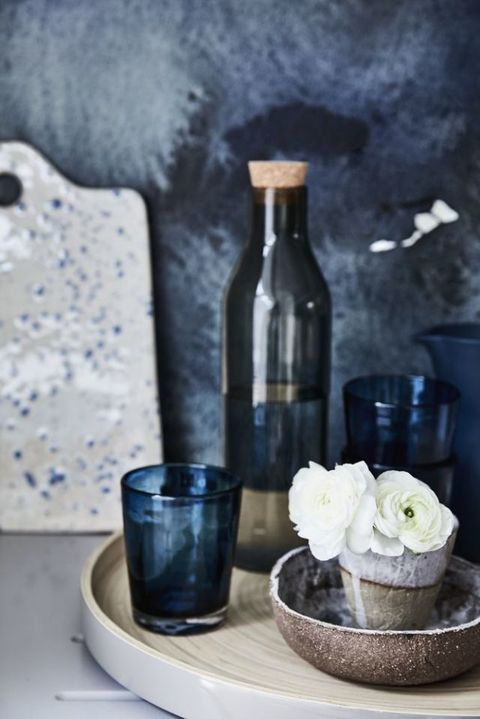 Style inspiration: Inky blues.