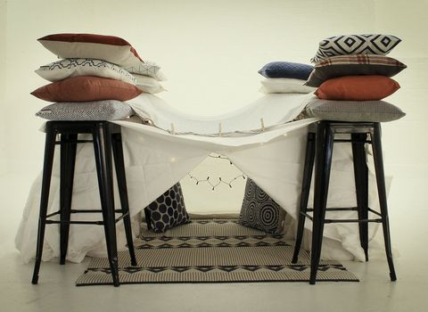 The ultimate pillow fort from Wayfair