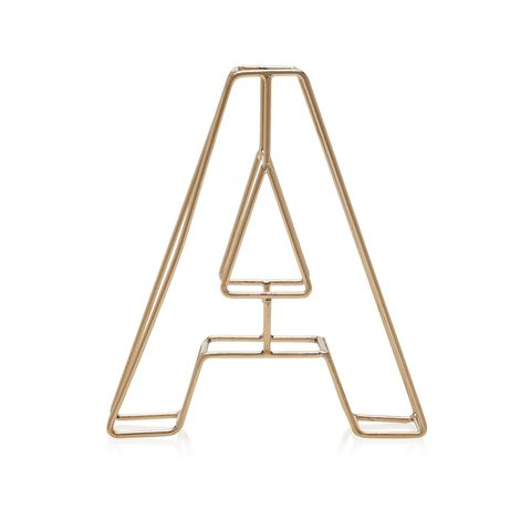 """<p>The fashion for monogrammed accessories shows no signs of disappearing, so try paying homage to your initials with this&nbsp;decorative word block. Best of all, it'll&nbsp;tick&nbsp;two trends off at once thanks to its <a href=""""http://www.housebeautiful.co.uk/decorate/looks/news/a161/how-to-use-metallics/"""" data-tracking-id=""""recirc-text-link"""">metallic-of-the-moment brass</a> finish!&nbsp;<em data-redactor-tag=""""em"""" data-verified=""""redactor""""><strong data-redactor-tag=""""strong"""" data-verified=""""redactor"""">£6, <a href=""""http://www.next.co.uk/g752720s1#437808"""" target=""""_blank"""" data-tracking-id=""""recirc-text-link"""">Next Home</a>&nbsp;</strong></em></p>"""