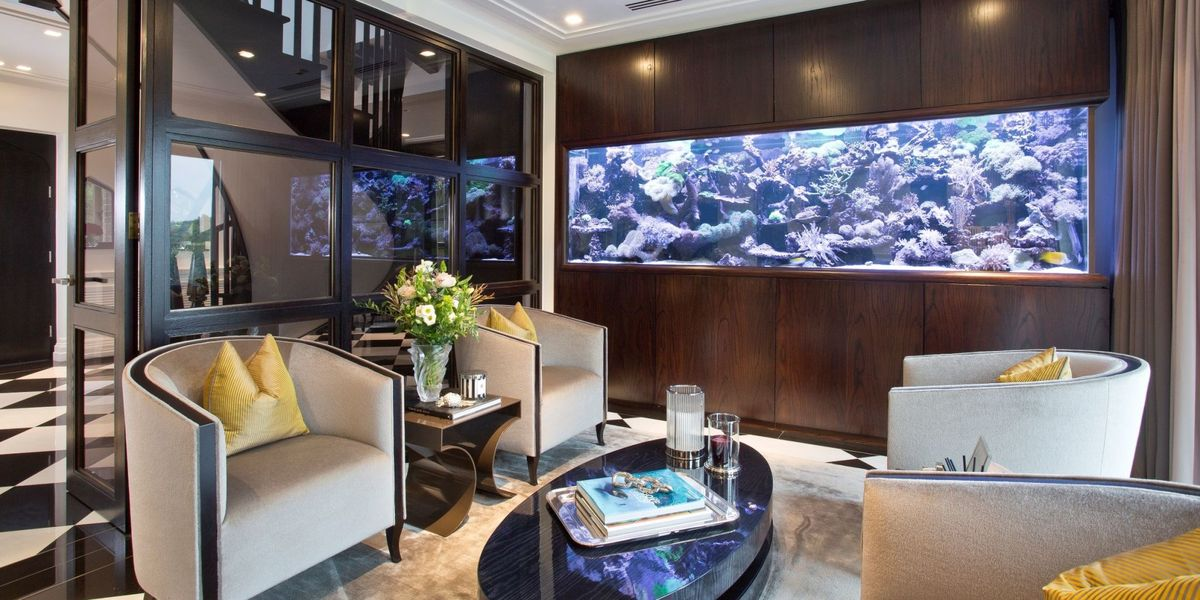 Property Of The Week Large Aquarium Is Highlight Of Stunning Hertfordshire Home