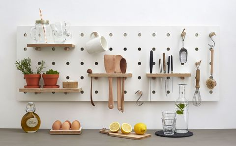 Chef's Edition Pegboard by Kreisdesign, £195, The Maker Place