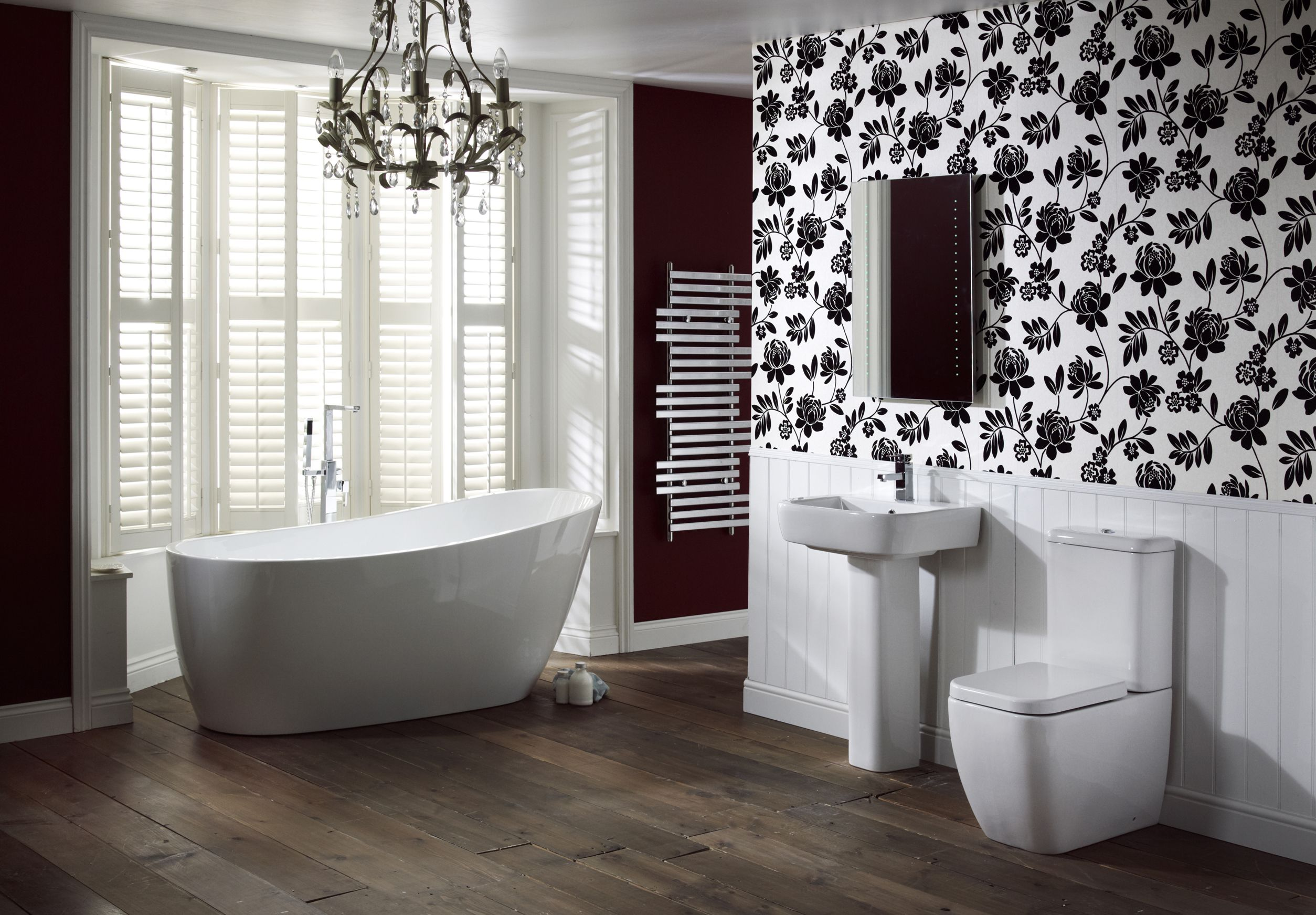 Can I Use Wallpaper In My Bathroom