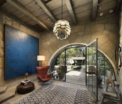 Ellen Degeneres And Portia De Rossi S Santa Barbara Villa Which Is Curly On The Market