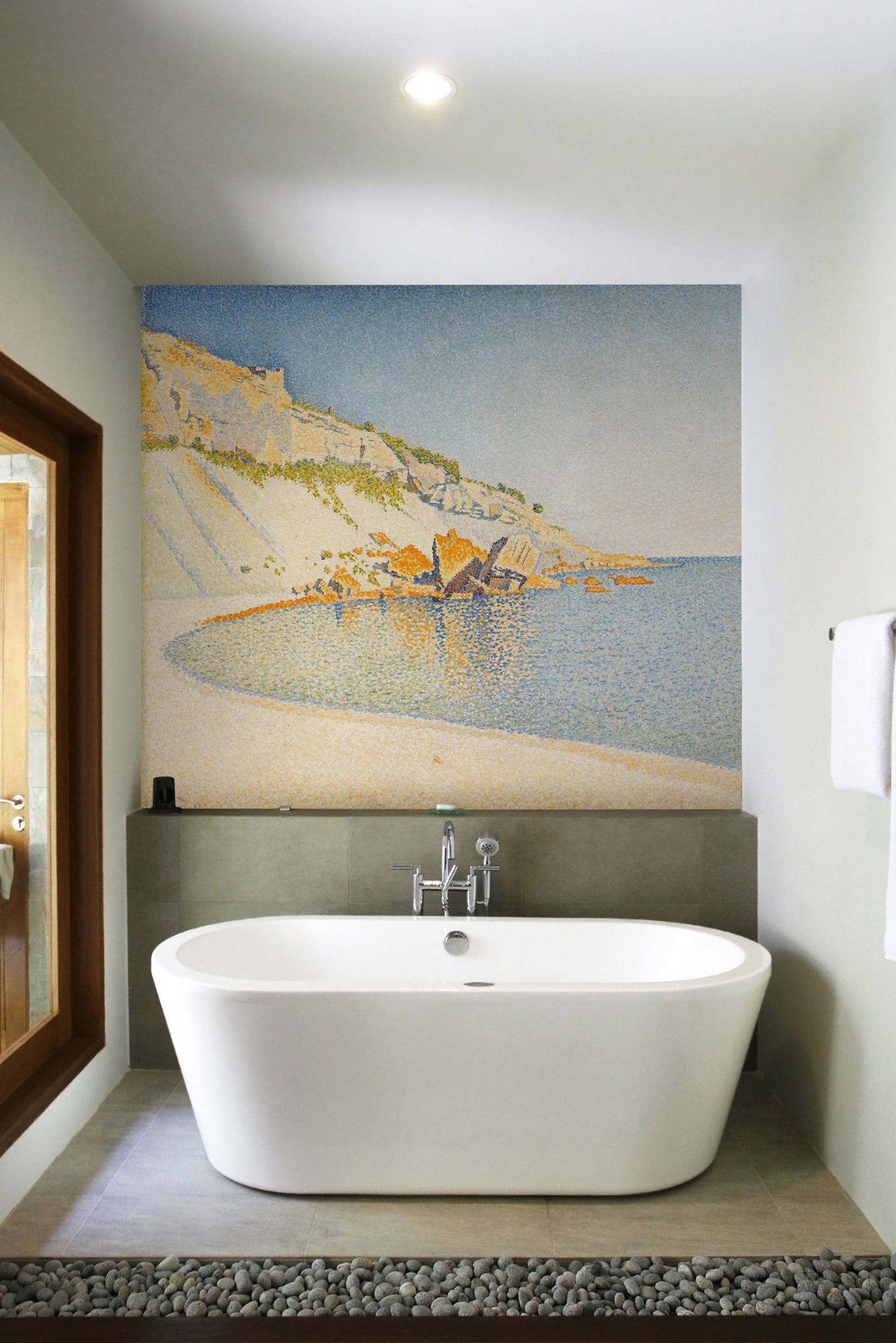 Wall Art By Purlfrost   Signac, Cap Lombard Mural