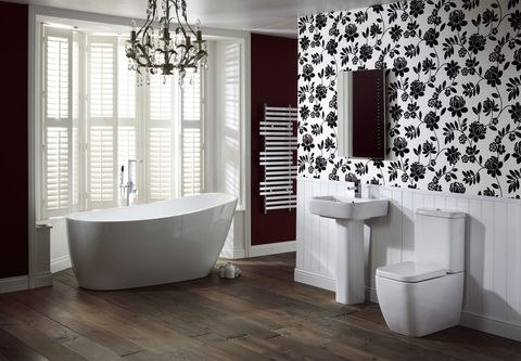 Adella Suite From The Contemporary Collection Frontline Bathrooms