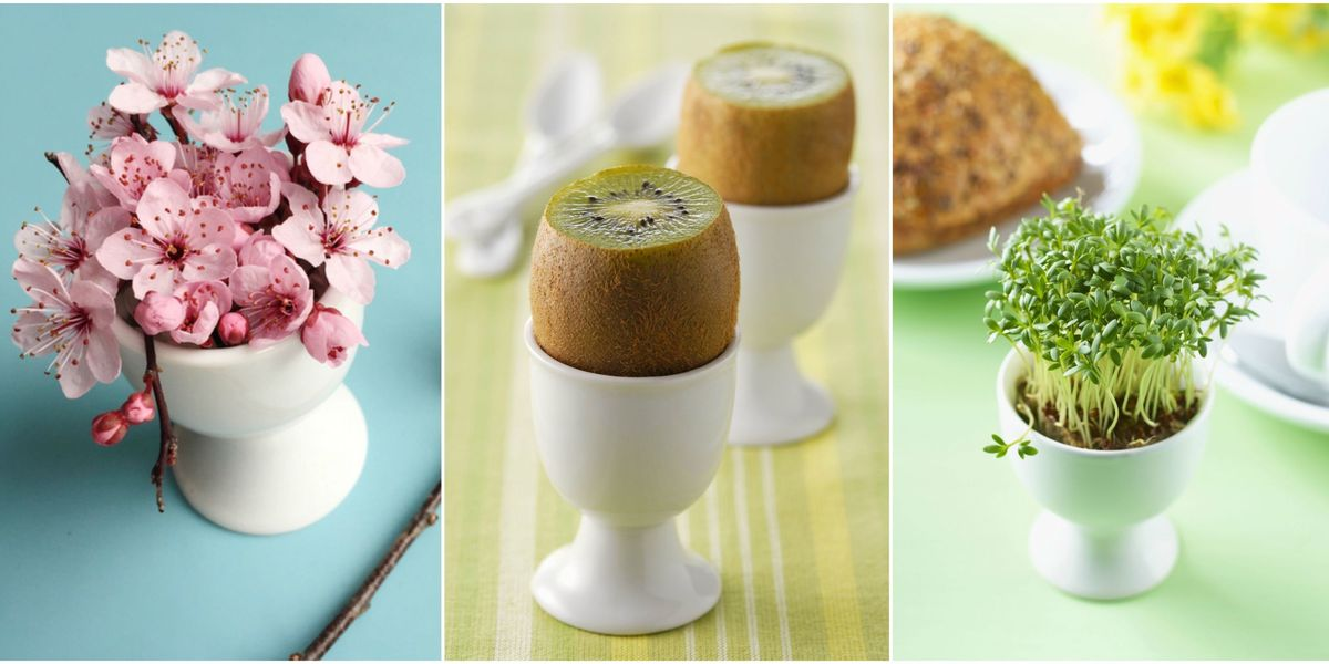 10 Alternative Uses For Egg Cups - Easter Ideas