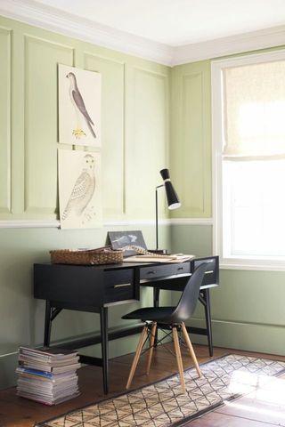 Benjamin Moore Home Office Study Room