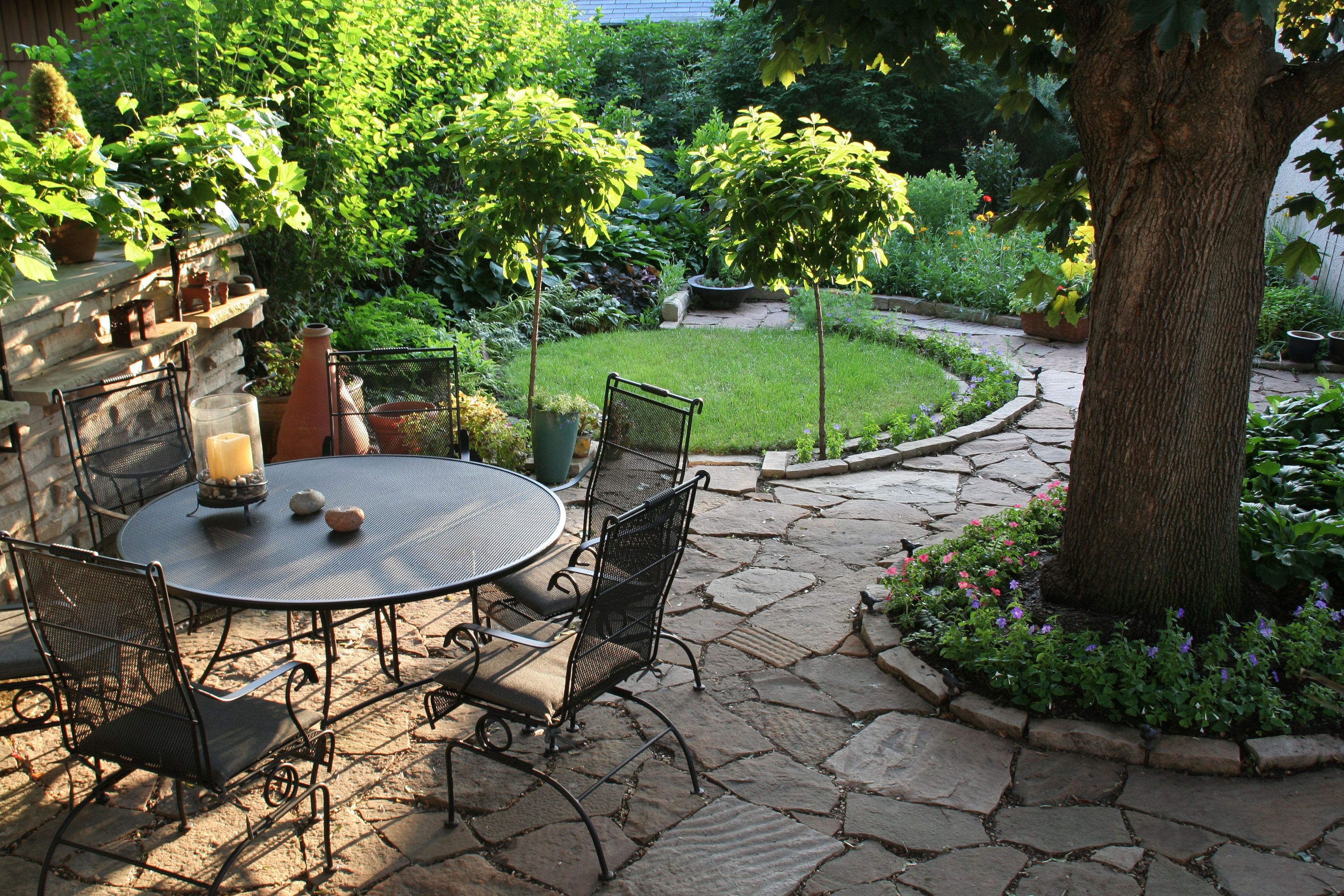 patio courtyard pin lavender gardens cobbles stone homes traditional with and garden