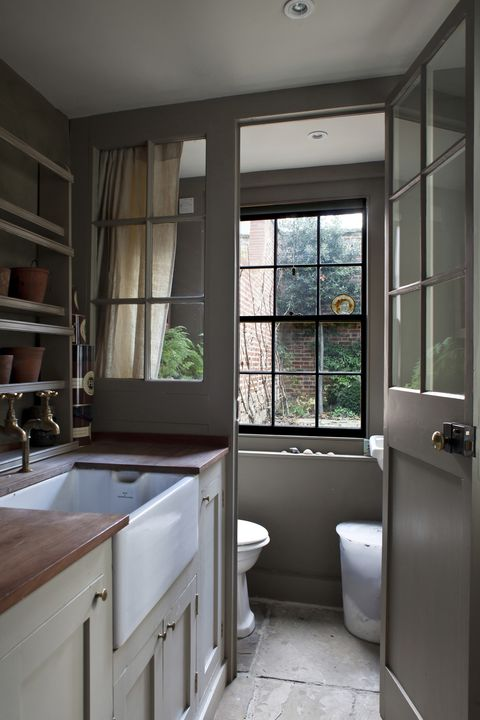 Downstairs Toilet Ideas Best Small Bathroom And Cloakroom Ideas - Cost to add bathroom to existing space