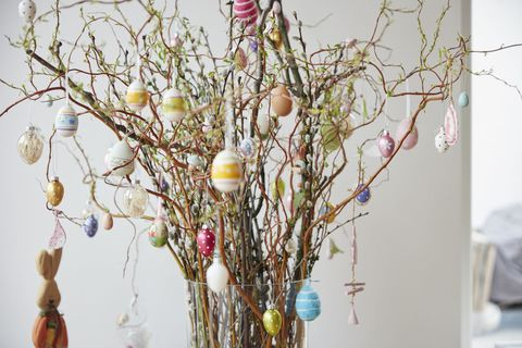 Easter tree bouquet
