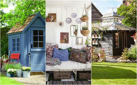 Garden Sheds Collage