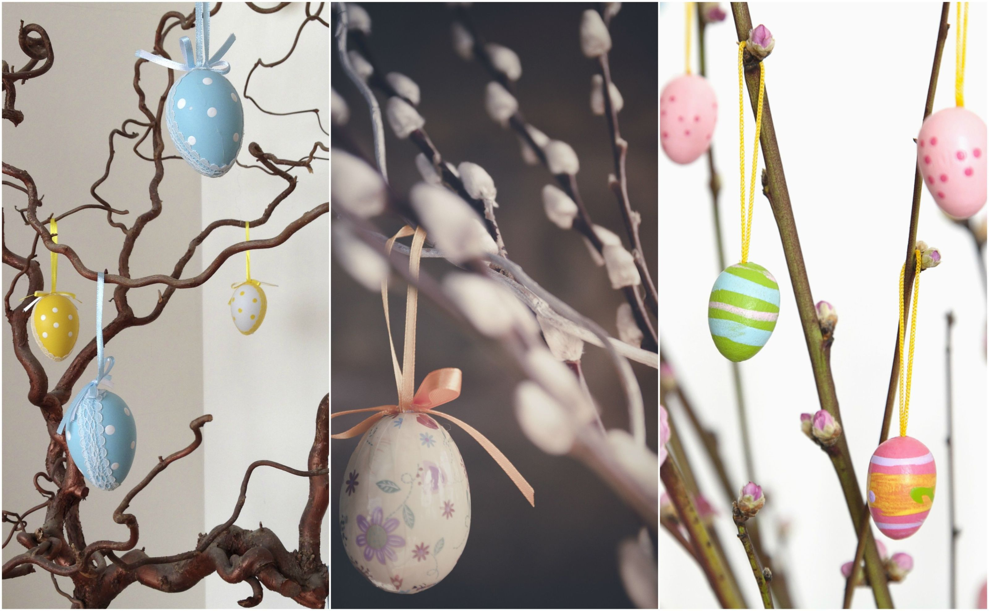 Easter Tree Collage