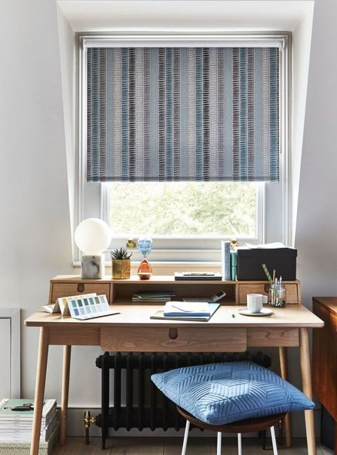 Roller blinds: House Beautiful collection at Hillarys.Styling by Kiera Buckley-Jones. Photography by Rachel Whiting.