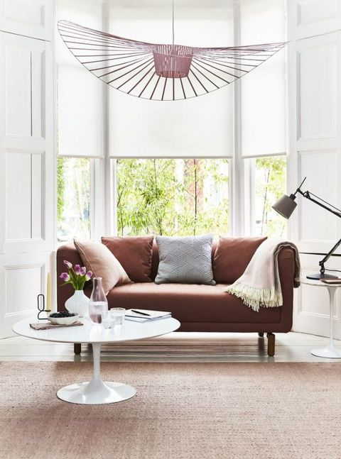 Roller blinds: House Beautiful collection at Hillarys. Styling by Kiera Buckley-Jones. Photography by Rachel Whiting.
