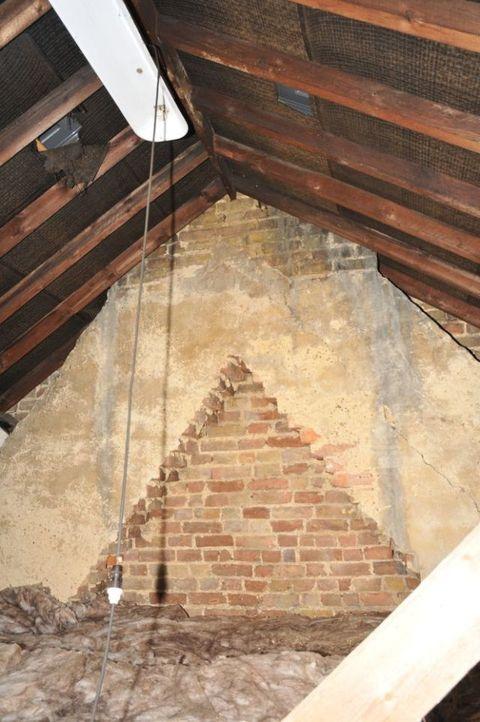 Converted attic now cosy ensuite bedroom