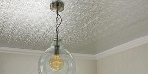 Metallic Tile Wallpaper, Graham & Brown