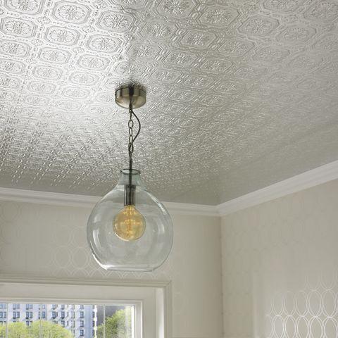Metallic Tile Wallpaper Graham Brown