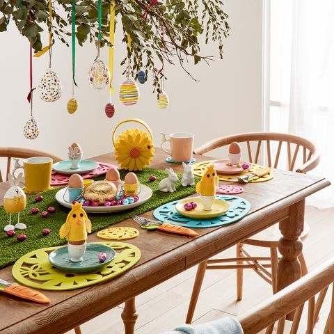 f08041275224 Easter table decorations: all the essentials you need
