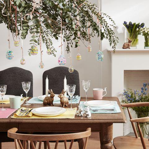 John Lewis Easter table setting