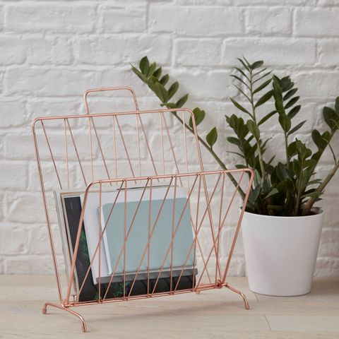 The Contemporary Home: Copper Magazine Rack