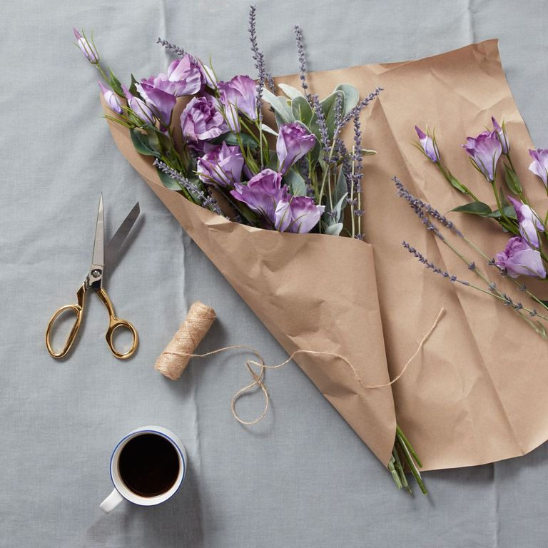 How to style artificial flowers and plants at home john lewis floralsilk lisianthus spray lavender 550 mightylinksfo