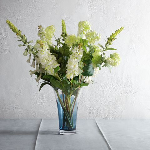 How to style artificial flowers and plants at home floralsilk stock flower stem cream 7 john lewis mightylinksfo