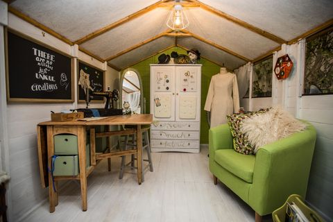 Grand Shed Project sponsored by AXA Insurance. Grand Designs Live