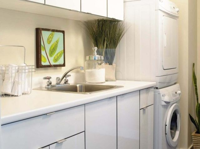 8 ways to maximise space in a utility room