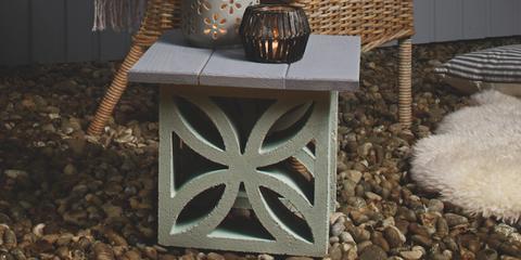 Bespoke outdoor garden table