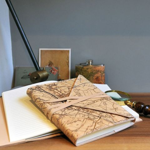 Wrap Around Refillable Diary, from £85, Atlas & I