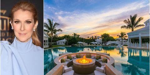 Celine Dions Florida Mansion In Jupiter Island Has Been Sold After