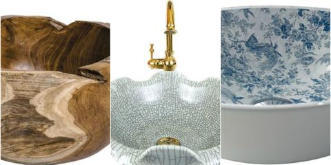 Bathroom design ideas - countertop basins