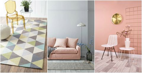 How to use pastel colours in the home - styling tips
