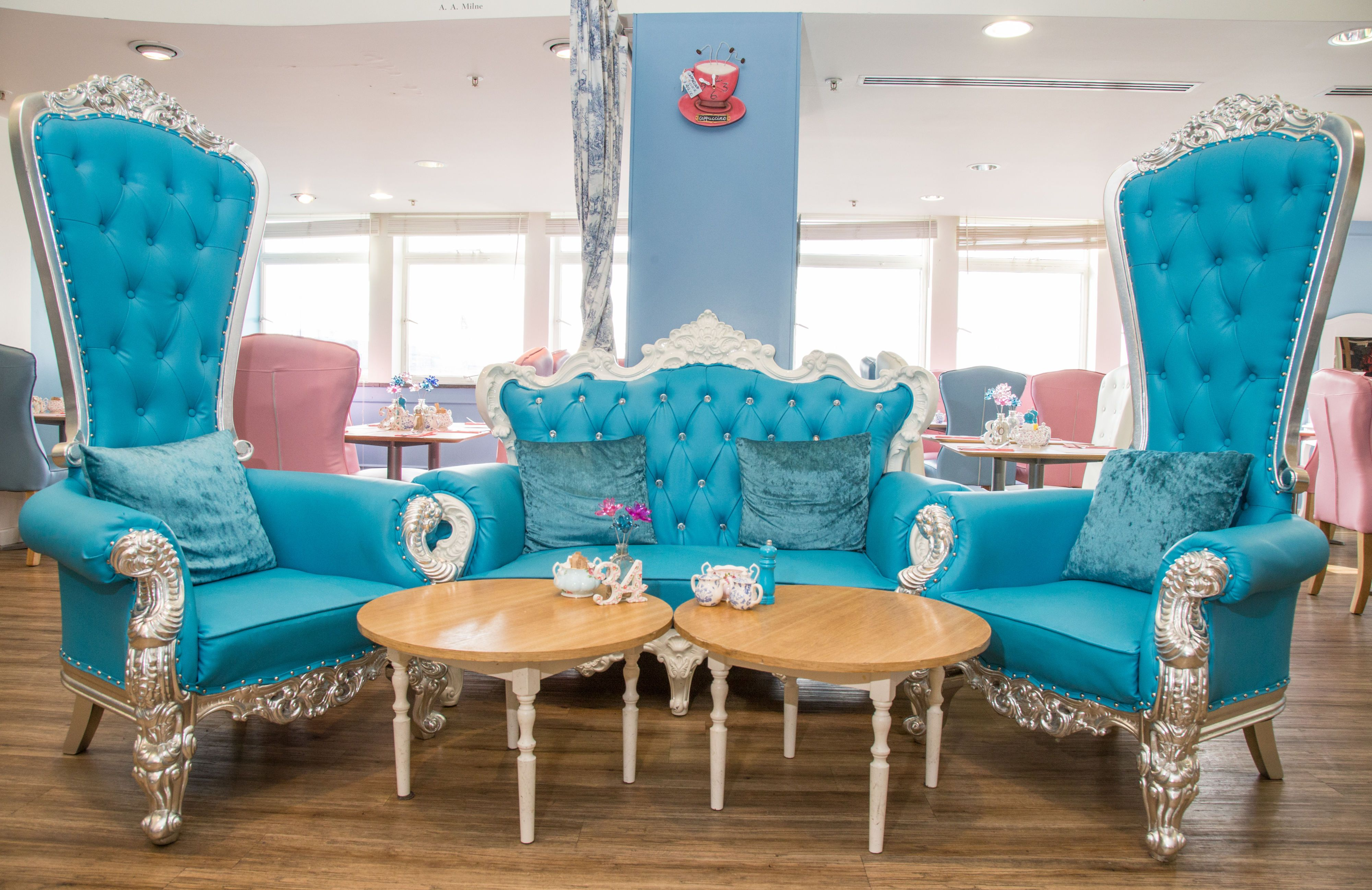 The Tea Terrace, House Of Fraser, London, Installs £16,000 Cinderella  Carriage With