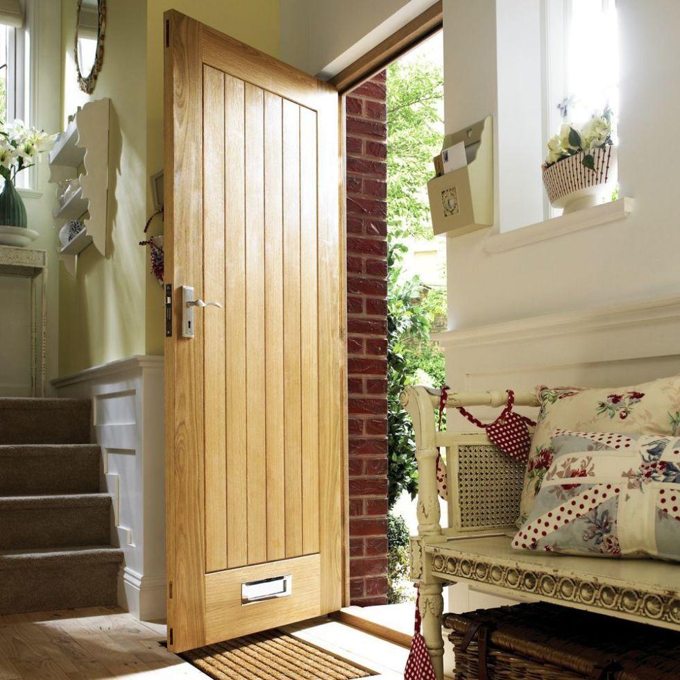 Geneva oak veneer door Wickes & 6 house renovation projects - plan to perfection