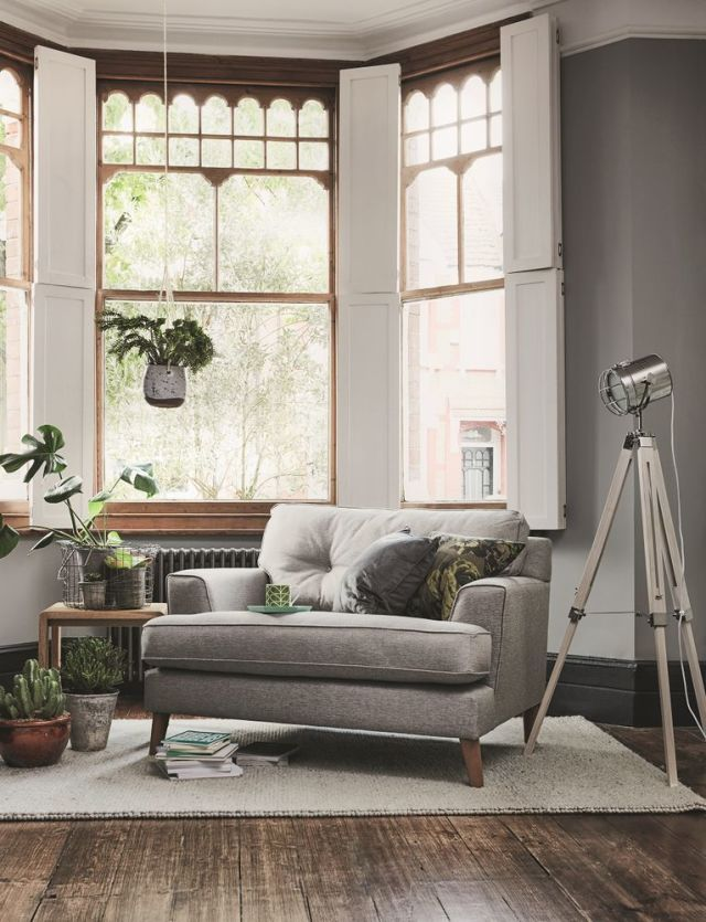 Line Fabric Snuggler, Furniture Village